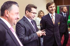 Альпари запускает новый проект с гроссмейстером Сергеем Карякиным