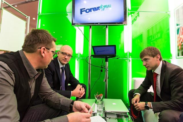 Forex4you на ноябрьских выставках в Москве.