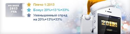 Новогодний конкурс LF 2013 для трейдеров от компании LiteForex