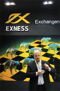 EXNESS на International Investment and Finance Expo